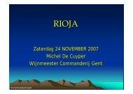 Rioja Baja - Commanderij Gent