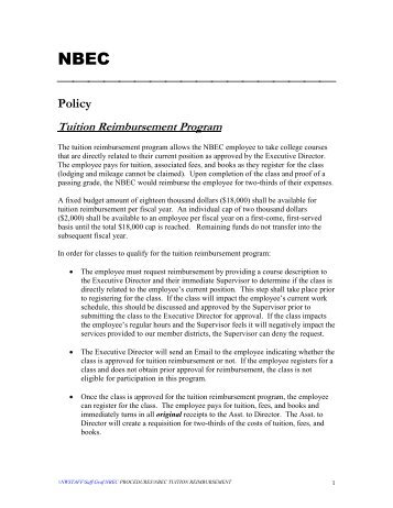 Tuition Reimbursment Side Letter Agreement Recitals Whereas