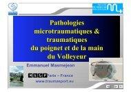 Pathologies de la main et du poignet au Volley-ball ... - Extranet FFVB