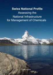 Assessing the National Infrastructure for Management of ... - UNITAR