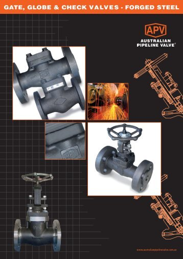 gate, globe & check valves - forged steel - Global Supply Line