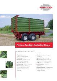 Fortuna-Tandem-Dreiseitenkipper