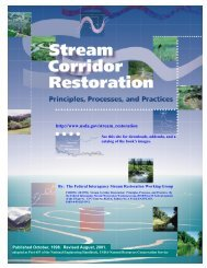 Stream Corridor Restoration - River Engineering and Urban ...