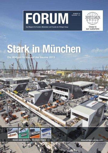 Stark in München - Wirtgen GmbH