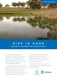 Bird in Hand Newsletter, June 2010 - SA Water