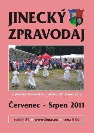 JZ červenec-srpen 2011 - Jince