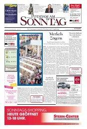 Merkels Zögern - Potsdamer Neueste Nachrichten