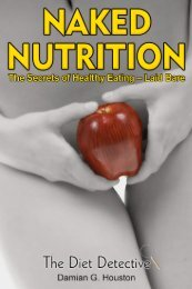 Naked Nutrition: The Secrets of Healthy Eating-Laid - Trans4mind