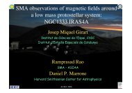 SMA observations of magnetic fields around a low mass protostellar ...