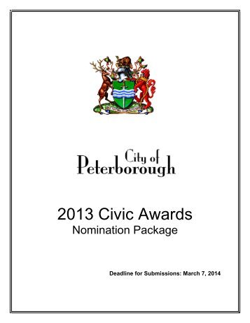Civic+Awards+Nomination+Package
