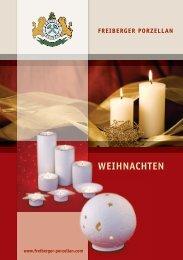 WEIHNACHTEN - Freiberger Porzellan