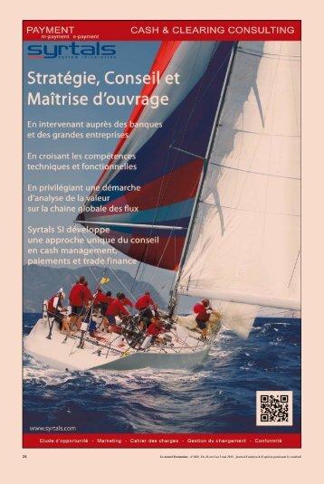 Le nouvel Economiste - n°1660 - Du 26 avril au 2 mai 2013 ... - Syrtals
