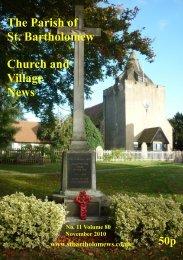 The Parish of St. Bartholomew Church and Village News - Otford.info