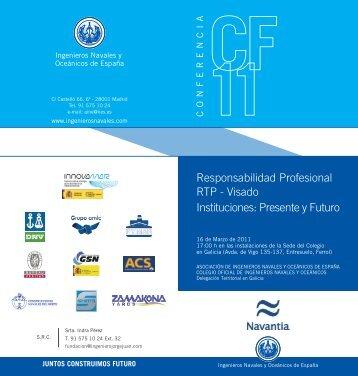 diptico Ferrol - Colegio Oficial de Ingenieros Navales