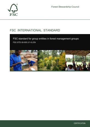 en fsc standard for group entities in forest management groups