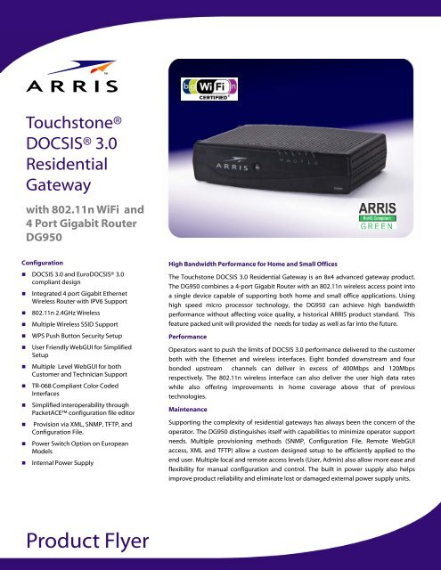 Dcx3635 cable set top box user manual provisioning and.