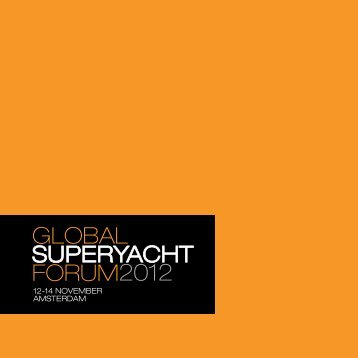 12-14 NOVEMBER AMSTERDAM - SuperyachtEvents