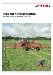 9 Meter Triple Mähwerkskombination - JF-Stoll