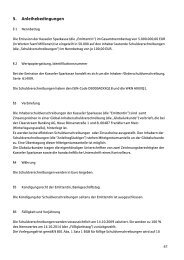 Anleihebed. und End ... - Kasseler Sparkasse