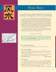 Feng Shui Tour - Access China Tours
