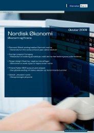 Nordisk Økonomi - Danske Analyse - Danske Bank