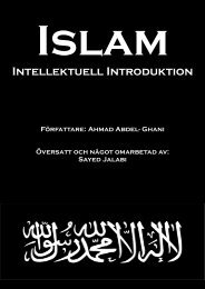 Islam - Intellektuell introduktion - Islamguiden