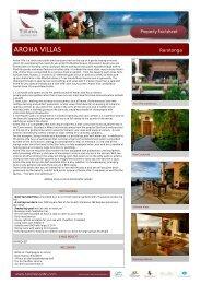 AROHA VILLAS- MAY 2012 - Island Hopper Vacations