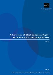 Achievement of Black Caribbean Pupils: Good Practice in ...