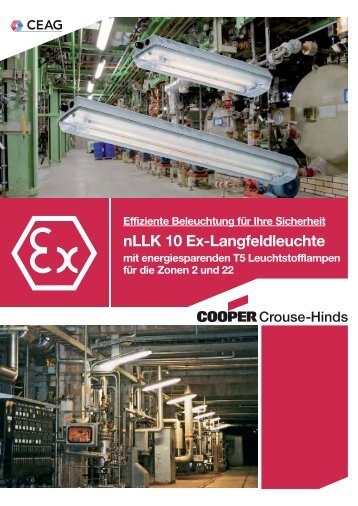 nLLK 10 Ex-Langfeldleuchte - Cooper Crouse-Hinds