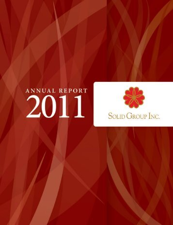 2011 Annual Report - the solid group inc website