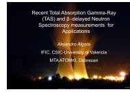 Recent developments in total absorption gamma ray and beta ...