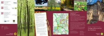 zum Wanderflyer - Naturpark Münden