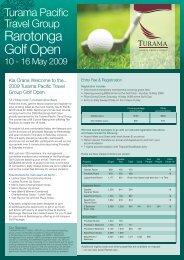 Rarotonga Golf Open - Island Hopper Vacations