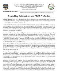 Treaty Day Celebration and PRCA ProRodeo - Navajo Nation Fair