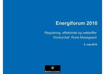 Regulering, effektivitet og nettarif.pdf - Energitilsynet
