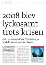 Topp 100 för år 2008 - Visita