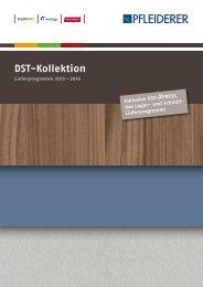 DST-Kollektion 2013 - 2016 - Pfleiderer