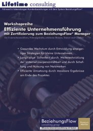 Praxis Workshop - Ulbing consulting