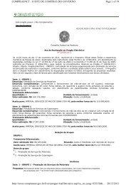 Page 1 of 19 COMPRASNET - O SITE DE COMPRAS DO ...