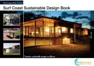 Surf Coast Sustainable Design Book - Surf Coast Shire