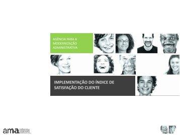 IMPLEMENTAÇÃO DO ÍNDICE DE ... - Portal do Cidadão