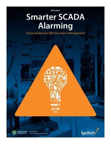 Smarter SCADA Alarming - Control Design