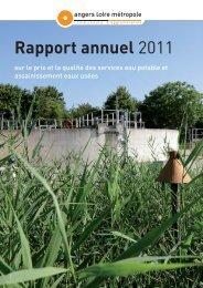 Rapport annuel 2011 - Angers Loire Métropole