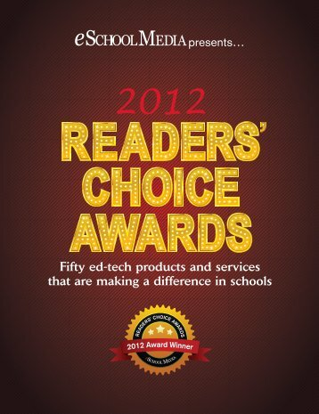Choice Awards - eSchool News