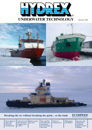 Magazine 170 - Hydrex Underwater Technology