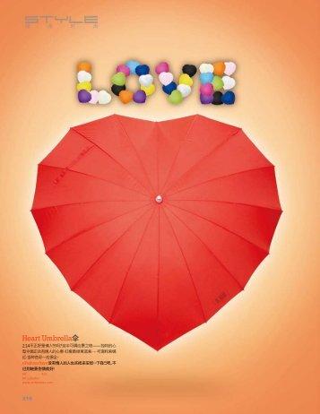 Heart Umbrella伞 - Diffus