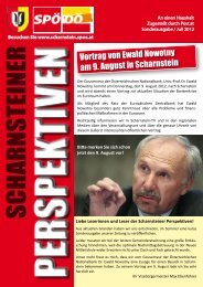 Extraausg. 2012 - SPÖ Scharnstein