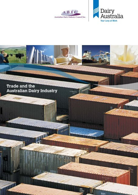 Trade and Dairy Screen