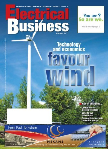 Technology and economics - Electrical Business Magazine