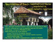 Spectroscopy of Exotic Neutron-rich Nuclei populated in ... - Bulgaria
